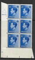 2½d Blue Edward VIII Cylinder A 36 2 Dot UNMOUNTED MINT