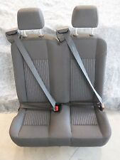 "Ford Transit OEM Seat; Charcoal Cloth; 31"" Dual Passenger; Right/Passenger; Univ"