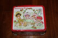 Vintage Strawberry Shortcake Metal Lunchbox And Thermos Aladdin 1981