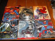 HOT WHEELS 1/64 POP CULTURE BATMAN SUPERMAN DC COMICS 6 CAR SET VOLKSWAGEN CHEVY