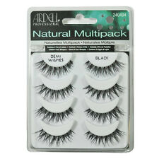 Ardell Natural Multipack Strip False Lashes DEMI WISPIES 4pairs Glam Oz.