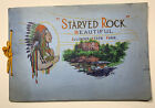 Starved Rock Illinois State Park Souvenir Travel Brochure Booklet 1927 Indian
