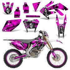 Honda CRF250X Dirt Bike Graphics Kit Decal Wrap Deco Stickers 2004-2016 REAP PNK