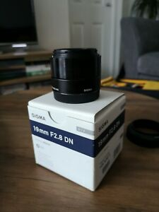 Sigma 19mm f/2.8 DN E Mount
