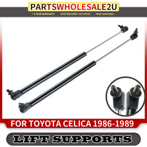Two Fits Toyota Celica 1991 To 1993 Convertible Trunk Lift Supports