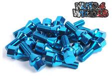 20 X Blau Legierung Rad Muttern M14x1.5 passend für Seat Ibiza