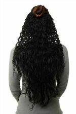 Toupée 7 Clips Strong Curly Black H9311-1B