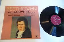 BEETHOVEN LP SONATA FOR VIOLIN AND PIANO. CHRISTIAN FERRAS PIERRE BARBIZET.