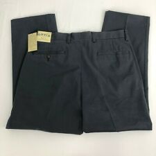 Orvis Wrinkle-Free Pure Cotton Trousers Size 34 Blue Gray - ALTERED