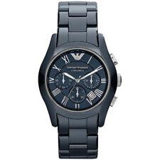 Empori Armani AR1469 Blue Ceramica Chronograph Mens Ladies Watch