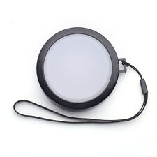77mm White Balance Lens Cap with Filter Mount for DV DC DSLR SLR