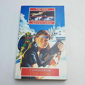 Doctor Who The New Adventures: Conundrum by Steve Lyons (1993) VG+ Virgin PB