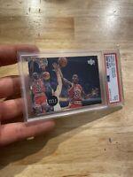 Michael Jordan PSA 7 Upper Deck Rare Air #72 Chicago Bulls Man Cave INVESTMENT