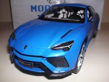 1:18 LAMBORGHINI URUS MCG Modellauto Blau Diecast Model Blue SUV Concept Car