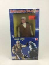 "Battlestar Galactica Vintage 1978 Mattel Colonial Warrior 12"" Figure New in Box"