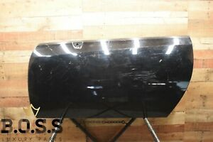 04-09 Cadillac XLR Left Driver Side Front Door Shell Panel Black