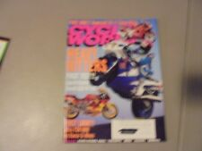 JANUARY 1993 CYCLE WORLD MAGAZINE,KAWASAKI ZX-11,SUZUKI GSX-R1100,ULTRA FZR1000