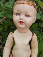 + Curieuse poupée bouche ouverte - ancienne - marquée Prinzess Wien +