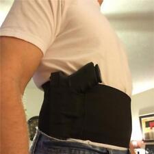 Tacticla Adjustable Belly Band Waist Pistol Gun Holstler 2 Mag Pouches W