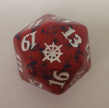 RED Ixalan Spindown Dice - Mountain D20 MTG Life Counter 20 Sided