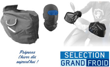 Pack Protection froid Hiver Scooter Manchons Tablier Cagoule Universel