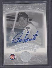 2004 Upper Deck Memorable Moments 1969 Ron Santo Signed Card Chicago Cubs HOF