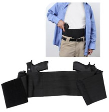 Ambidextrous Concealed Elastic Belly Band Holster S/M