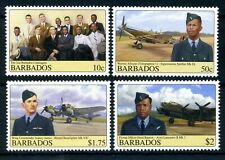 Barbados 2008 Airmen and Aircraft (MNH)