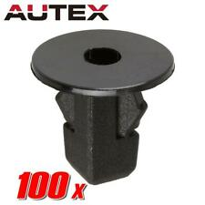 100x Nylon Front Bumper Hood Fender Moulding Clip Screw Grommet for Toyota Yaris