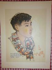 Vietnam Liberation War Art - A YOUNG SCOUT - Guerrilla Team - MY THO - VC - 39