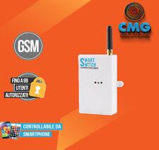 RICEVENTE GSM 12V CANCELLO APRIPORTA CALDAIA LUCI CONTROLLO REMOTO ANDROID IOS