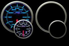 "Oil Temp Gauge 52mm (2 1/16"") Electrical Prosport Premium Series Peak Hold"