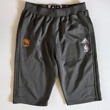NBA Adidas Golden State Warriors Gray Shorts 2X 2L Long Tall EUC