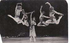 1960 Ballet Dancers Lepeshinskaya muscle men Soviet Russian photo RPPC gay int