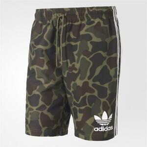 Mens Adidas Originals Green Camo Shorts (SJ2) RRP £34.99