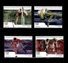 SELLOS DEPORTES PORTUGAL  2001 2459/62 CAMPEONATO DEL MUNDO DE ATLETISMO 4v.