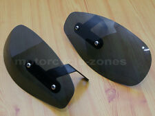 Motorcycle Smoke Hand Guard Wind Deflector For Harley Softail Glide Cruiser New