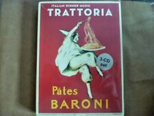 Trattoria: Italian Dinner Music Pates Baroni (3CD, Jan-2013, Allegro) NEW