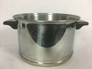 Vintage Lifetime Cookware 18-8 Stainless Steel 4 Quart Stock Pot WITHOUT Lid