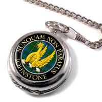 Johnstone Scottish Clan Pocket Watch