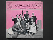 "RARE! 45rpm w/picture sleeve– Das Orchester Lutz Albrecht – ""Teenager Party"""