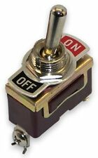 New Brass Boat Marine On-Off Toggle Switch 2 Position