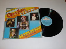 ELTON JOHN - The Very Best - Belgian-only 14-track compilation LP