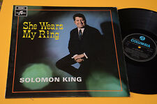 SOLOMON KING LP SHE WEARS MY RING ORIG UK 1968 EX LAMINATED COVER