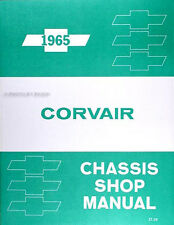 Best Shop Manual for 1965 Chevy Corvair 65 Corsa Monza Chevrolet Repair Service