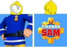 Fireman Sam kids poncho towel New