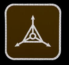 "TAD Logo 3"" SOLAS Triple Aught Design PATCH ITS CSM PDW MOTUS Gear IR SAR"