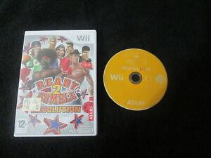 WII : READY 2 RUMBLE REVOLUTION - ITA ! Comp. Wii U ! CONSEGNA IN 24/48H !