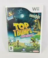 Top Trumps Adventures Nintendo Wii w/ Instructions Free UK Postage
