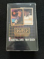 1990-1991 NBA Skybox Basketball Factory Sealed 🏀 36 packs